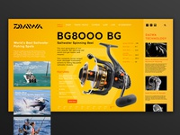 Daiwa Spinning Reels Promo Concept