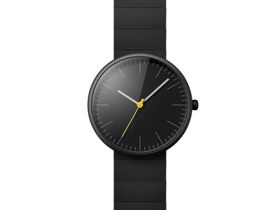 Out of Time braun watch wrist