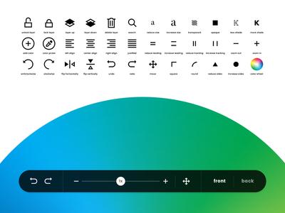 Printickle - Iconography minimal printickle iconography icons