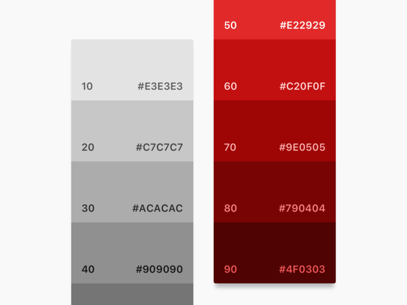 My struggle with colors interface design system palettes color