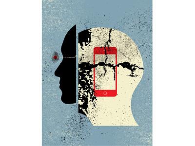 Illustrations for Scientific American Magazine print design editorial illustration magazine illustration illustration