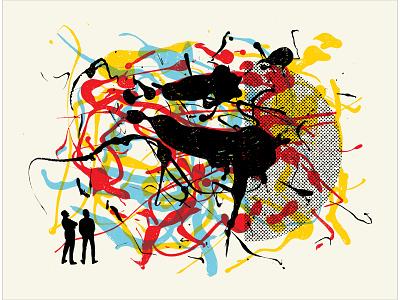"""""""Formation #001"""" poster / art print poster design design illustration"""