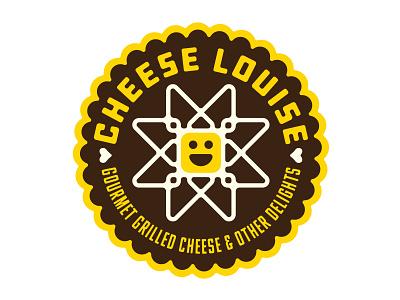 Cheese Louise Logo print graphic design design typography branding restaurant design logo design logo