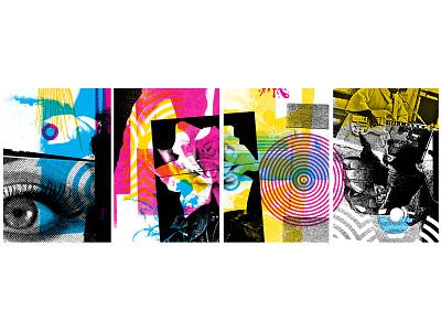 Stilheart Distillery & Cocktail Lounge Mural cmyk mural design