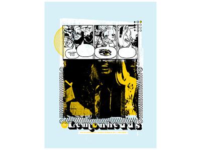 Lemonheads Concert Poster screenprint concert poster poster design typography graphic design illustration design print