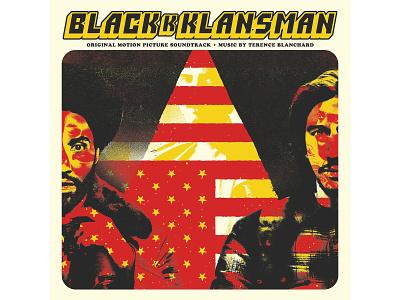 BlacKkKlansman Soundtrack spike lee soundtrack vinyl package design typography graphic design illustration design print