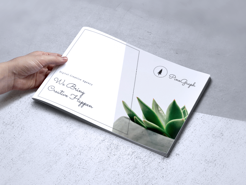 Creative Brochure Vol. 08 modern template promotion professional indesign flyer creative corporate business brochure
