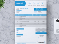 CORPORA - Clean Business Invoice