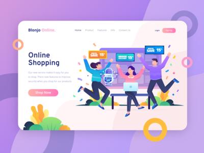 Blonjo Online - Secured Online Shopping Service