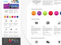 Website visual