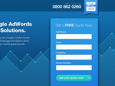 Adwords graph background