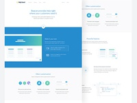 Beacon / Landing Page