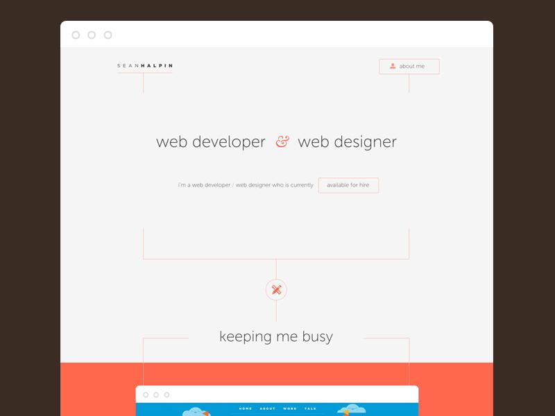 Dribble web mock