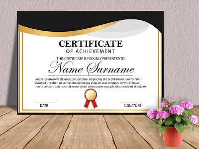 Certificate Design Template luxurious logo icon typography typography logo logo design creative logo branding logo award certificate design online certificate design modern certificate design certificate design templates gift certificate design certificate design appreciation certificate design