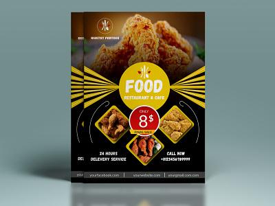 Food  Flyer branding design poster design postcard menu design graphic design food flyer design menu restaurant restaurant flyer poster food flyer flyer