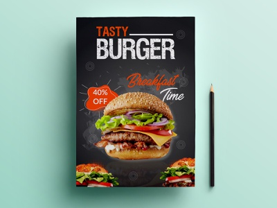 FOOD FLYER poster branding design food graphic design menu menu design poster design restaurant flyer flyer design flyer food flyer