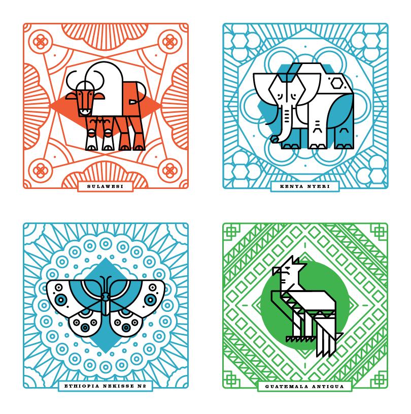 Woodburl coasters
