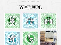 Wood Burl Coffee Site