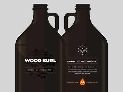 Wood Burl Growlers