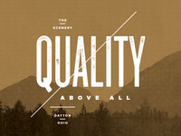 Quality Above All