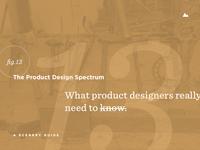 The Product Design Spectrum