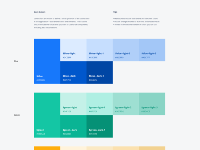 Color Speccing for Design Systems design systems palettes systems colors