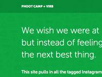 Phoot Camp + Virb