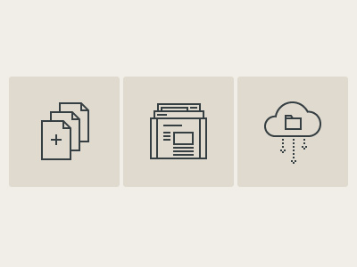 Everything You Need icons virb simple tan slate cloud pages themes