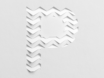 Typecut Alphabet cut design craft paper alphabet type hand lettering typography lettering