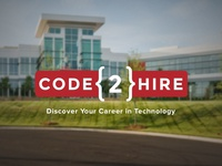 Code2Hire Logo Design
