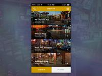 Bar Tab App Concept