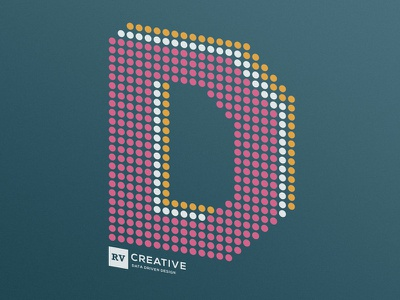 Data Driven Design T-Shirt typography red ventures tshirt dots d design data