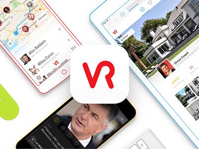 Velvet Ropes App celebrity maps uiux brand identity brand design userinterface