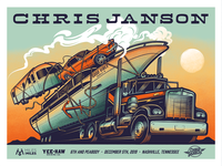 Chris Janson Poster Design