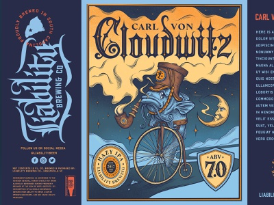 Liability Brewing Can Designs branding design branding logodesign illustration beer art hazy ipa catfish packagedesign brewing company brewing beer
