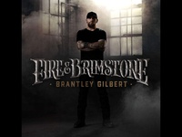 Brantley Gilbert Album Cover Design / Typography branding typography nashville country music music handlettering illustration customtype fire album artwork album cover album art album