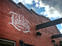 Logo / Mural design for Liability Brewing Company