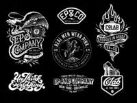 EP+CO Badge Designs