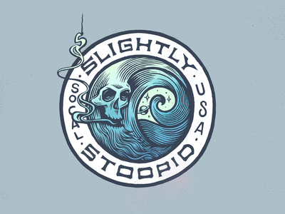 Slightly Stoopid Merch Design