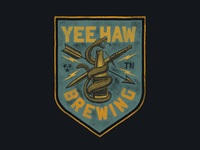 Yee-Haw Brewing Banner Design