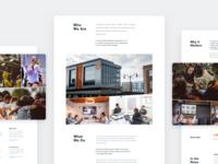 Newsroom Page