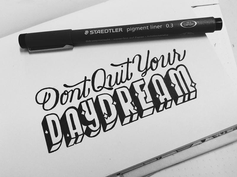 Quote handwritten handlettering lettering brush lettering