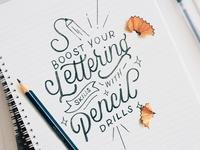 Pencil Challenge Posts