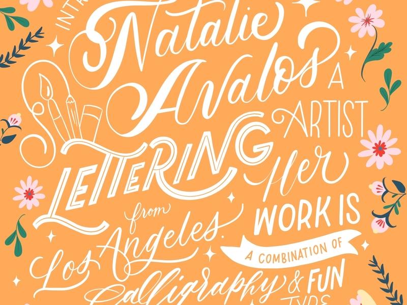 Introduction brush lettering handwritten calligraphy hand lettering handlettered design art type typography letters lettering handlettering