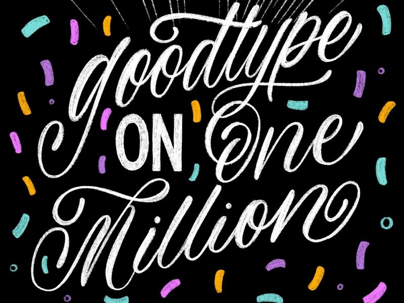 Congrats to Goodtype illustration brush lettering handwritten calligraphy hand lettering handlettered design art type typography letters lettering handlettering