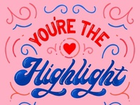 You're the highlight of my IG ;)