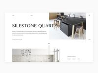Silestone Homepage