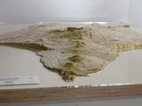 Faial Island (Azores) Scale Model 1:10'000