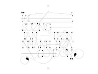 giọt sương vô hình. (experimental typography)