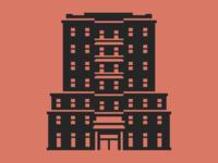 Pre-War Apartment Building Icon